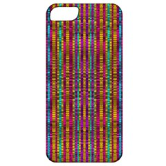 Star Fall In  Retro Peacock Colors Apple Iphone 5 Classic Hardshell Case