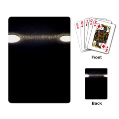 Black Lite!  Playing Card