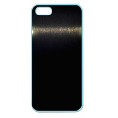 Black Lite!  Apple Seamless Iphone 5 Case (color)