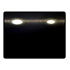 Black Lite!  Double Sided Fleece Blanket (small)