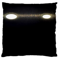 Black Lite!  Standard Flano Cushion Case (two Sides)