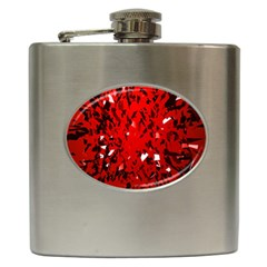 U Broke My Heart Hip Flask (6 Oz)