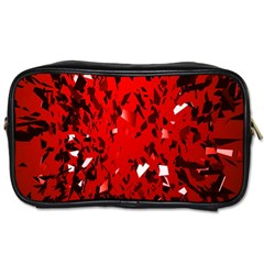 U Broke My Heart Toiletries Bags 2 Side