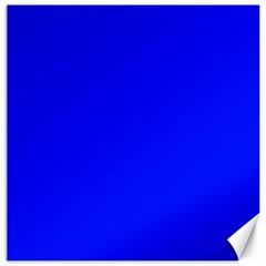 Blue! Blue! Blue! Canvas 20  X 20