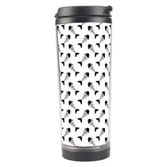 Fish Bones Pattern Travel Tumbler