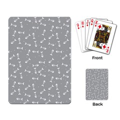 Fish Bones Pattern Playing Card