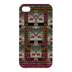 Wings Of Love In Peace And Freedom Apple Iphone 4/4s Premium Hardshell Case