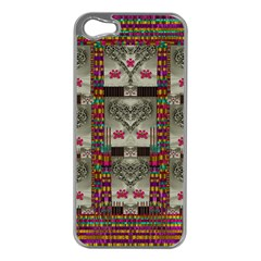 Wings Of Love In Peace And Freedom Apple Iphone 5 Case (silver)
