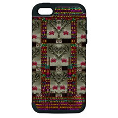 Wings Of Love In Peace And Freedom Apple Iphone 5 Hardshell Case (pc+silicone)
