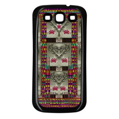 Wings Of Love In Peace And Freedom Samsung Galaxy S3 Back Case (black)