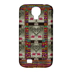 Wings Of Love In Peace And Freedom Samsung Galaxy S4 Classic Hardshell Case (pc+silicone)