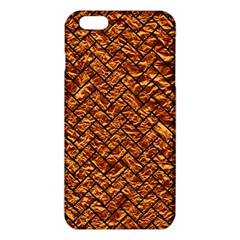 Brick2 Black Marble & Copper Foil (r) Iphone 6 Plus/6s Plus Tpu Case