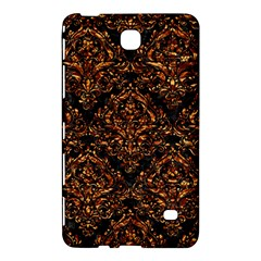 Damask1 Black Marble & Copper Foil Samsung Galaxy Tab 4 (7 ) Hardshell Case