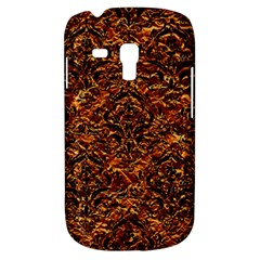 Damask1 Black Marble & Copper Foil (r) Galaxy S3 Mini