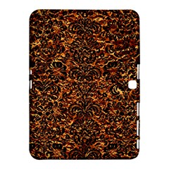 Damask2 Black Marble & Copper Foil (r)2 Black Marble & Copper Foil (r) Samsung Galaxy Tab 4 (10 1 ) Hardshell Case