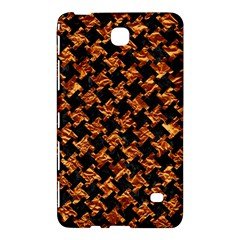 Houndstooth2 Black Marble & Copper Foil Samsung Galaxy Tab 4 (8 ) Hardshell Case