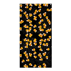 Candy Corn Shower Curtain 36  X 72  (stall)