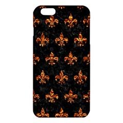 Royal1 Black Marble & Copper Foil (r) Iphone 6 Plus/6s Plus Tpu Case