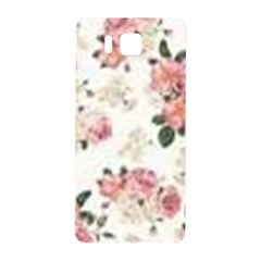 Pink And White Flowers  Samsung Galaxy Alpha Hardshell Back Case