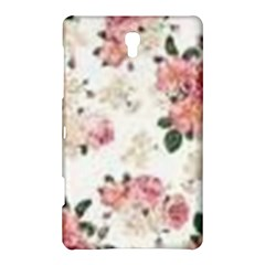 Pink And White Flowers  Samsung Galaxy Tab S (8 4 ) Hardshell Case
