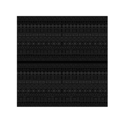 Aztec Influence Pattern Small Satin Scarf (square)