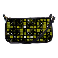 Small Geo Fun F Shoulder Clutch Bags