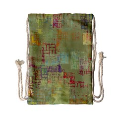 Abstract Art Drawstring Bag (small)