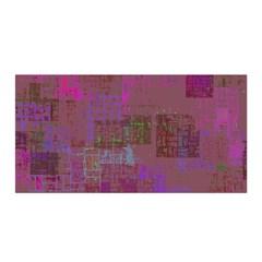 Abstract Art Satin Wrap