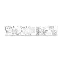 Abstract Art Flano Scarf (mini)