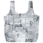 Abstract art Full Print Recycle Bags (L)  Front