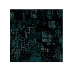 Abstract Art Small Satin Scarf (square)