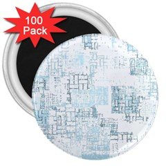 Abstract Art 3  Magnets (100 Pack)