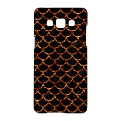 Scales1 Black Marble & Copper Foil Samsung Galaxy A5 Hardshell Case
