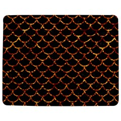 Scales1 Black Marble & Copper Foil Jigsaw Puzzle Photo Stand (rectangular)