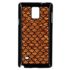 Scales1 Black Marble & Copper Foil (r) Samsung Galaxy Note 4 Case (black)
