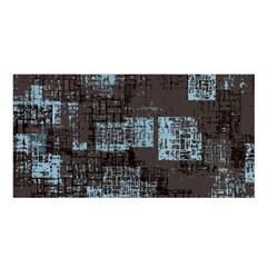Abstract Art Satin Shawl