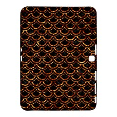Scales2 Black Marble & Copper Foilscales2 Black Marble & Copper Foil Samsung Galaxy Tab 4 (10 1 ) Hardshell Case
