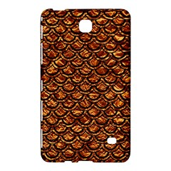 Scales2 Black Marble & Copper Foil (r) Samsung Galaxy Tab 4 (7 ) Hardshell Case