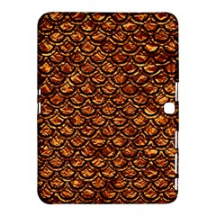 Scales2 Black Marble & Copper Foil (r) Samsung Galaxy Tab 4 (10 1 ) Hardshell Case