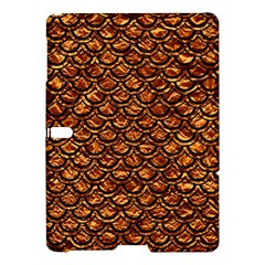 Scales2 Black Marble & Copper Foil (r) Samsung Galaxy Tab S (10 5 ) Hardshell Case