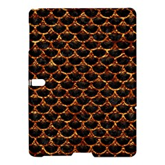 Scales3 Black Marble & Copper Foil Samsung Galaxy Tab S (10 5 ) Hardshell Case