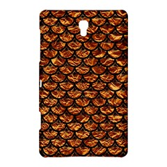 Scales3 Black Marble & Copper Foil (r) Samsung Galaxy Tab S (8 4 ) Hardshell Case