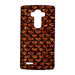 Scales3 Black Marble & Copper Foil (r) Lg G4 Hardshell Case