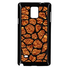 Skin1 Black Marble & Copper Foil Samsung Galaxy Note 4 Case (black)
