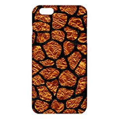 Skin1 Black Marble & Copper Foil Iphone 6 Plus/6s Plus Tpu Case