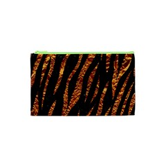 Skin3 Black Marble & Copper Foil Cosmetic Bag (xs)
