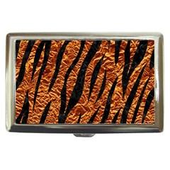 Skin3 Black Marble & Copper Foil (r) Cigarette Money Cases