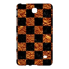 Square1 Black Marble & Copper Foil Samsung Galaxy Tab 4 (7 ) Hardshell Case