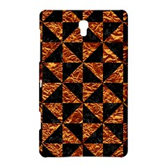 Triangle1 Black Marble & Copper Foil Samsung Galaxy Tab S (8 4 ) Hardshell Case
