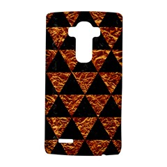 Triangle3 Black Marble & Copper Foil Lg G4 Hardshell Case